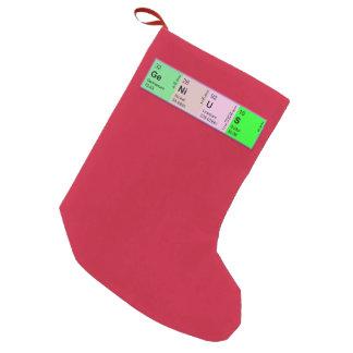 Periodic Table GENIUS Christmas Stocking