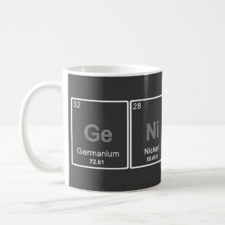 Periodic Table GeNiUS mug