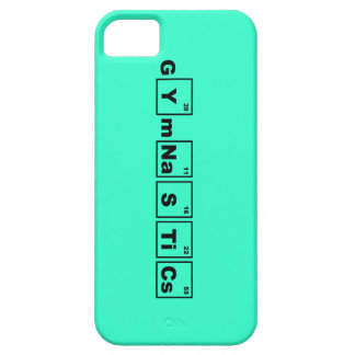 Periodic Table Gymnastics iPhone 5 Cover