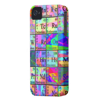 periodic table iPhone 4 cases
