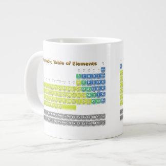 Periodic Table Large Coffee Mug