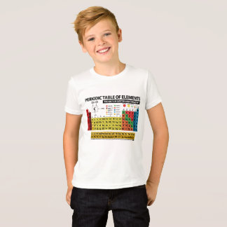 PERIODIC TABLE OF ELEMENTS - 2017 T-Shirt