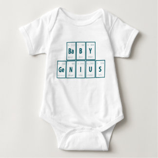 Periodic Table of Elements:  Baby Genius Baby Bodysuit