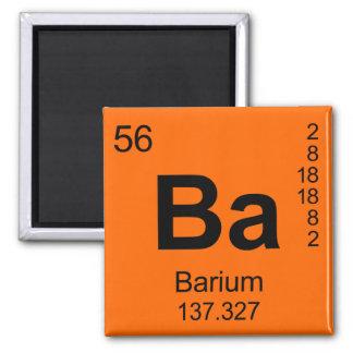 Periodic Table of Elements (Barium) Fridge Magnet