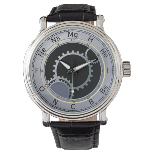 Periodic Table of Elements Men's Wristwatches