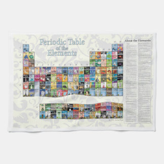 Periodic Table of the Elements Kitchen Towel