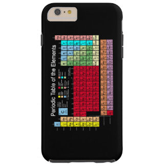 Periodic Table of the Elements Tough iPhone 6 Plus Case