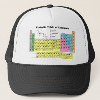 Periodic Table of the Elements Trucker Cap