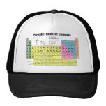 Periodic Table of the Elements Trucker Cap Trucker Hat