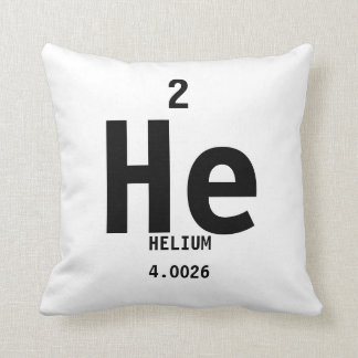 Periodic Table Pillows - Helium