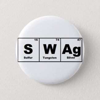 Periodic Table Swag 2 Inch Round Button