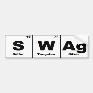 Periodic Table Swag Bumper Sticker