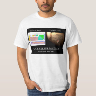 Periodic Table Vs Periodic Table T-Shirt