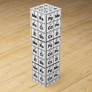 Periodic Table Wine Wine Box