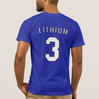 Periodic Team Shirt: Lithium T-Shirt
