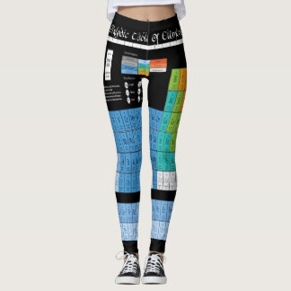 Periodical Table of elements Leggings
