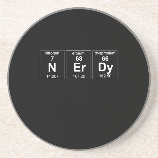 Periodically Nerdy Coaster