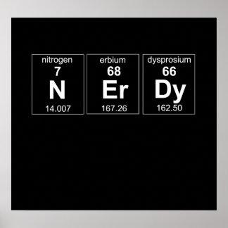 Periodically Nerdy Poster