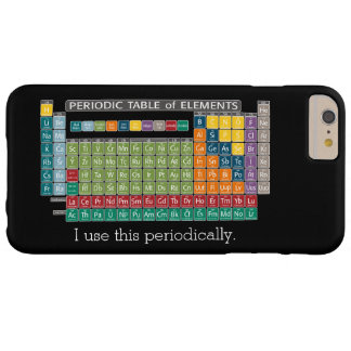 Periodically Periodic Table of Elements - Students Barely There iPhone 6 Plus Case