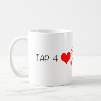 PERISCOPE Tap for Hearts Mug
