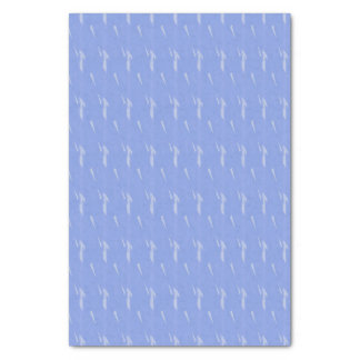 Periwinkle Blue Flecked Tissue Paper