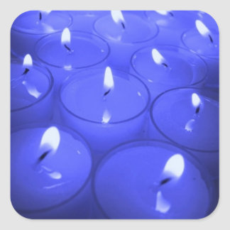 Periwinkle Candles Sticker