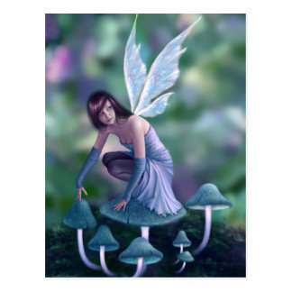 Periwinkle Fairy Art Postcard