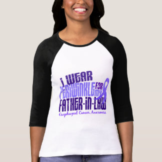 Periwinkle For Father-In-Law 6.4 Esophageal Cancer T-shirts