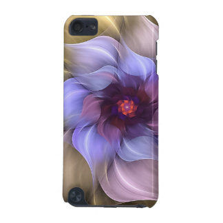 Periwinkle Fractal Flower iPod Touch 5G Cover