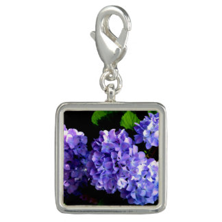 Periwinkle Hydrangea Charms