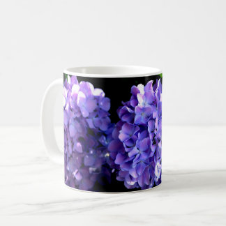 Periwinkle Hydrangeas Coffee Mug