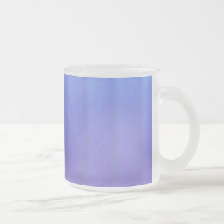 Periwinkle Purple Frosted Mug