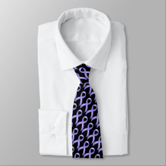 Periwinkle Ribbon - Stomach Cancer Awareness Tie