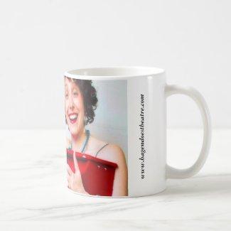"""Perk up, pianist!"" coffee mug"
