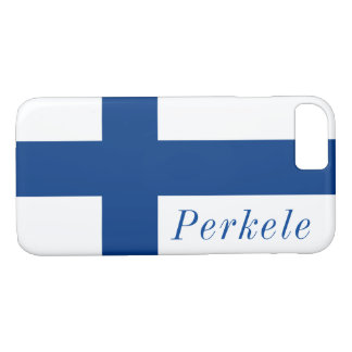 Perkele, Finnish flag, Iphone 7 cover