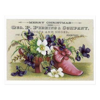 Perkins and Company Merry Christmas Postcard