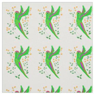 Perky Parrot Fabric