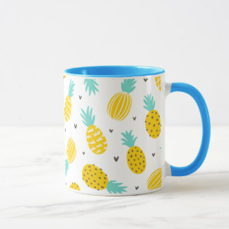 Perky Pineapples Mug