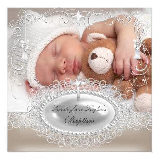 Perle de baptême de garçon de fille de baptême de bristols personnalisés