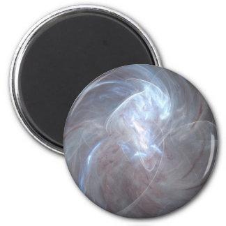 Perle légère magnet rond 8 cm