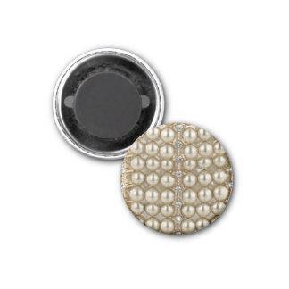 Perles et diamants d'aimant magnet carré 2,50 cm