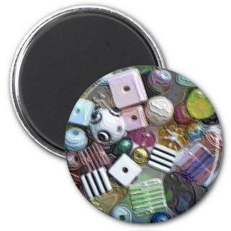 Perles Magnet Rond 8 Cm