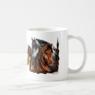 PerliPrints3Horsesz Coffee Mug