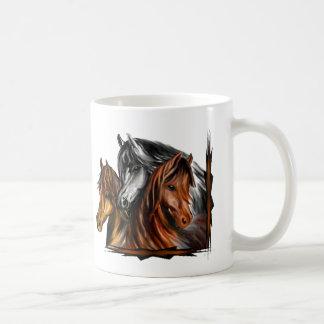 PerliPrints3Horsesz, PerliPrints3Horsesz Coffee Mug