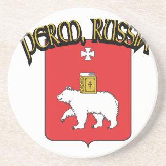 Perm Russia Beverage Coaster