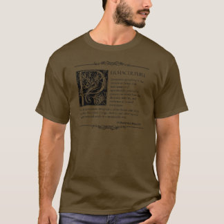 Permaculture - A Definition (2) T-Shirt