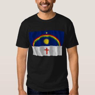 Pernambuco, Brazil Waving Flag T Shirt