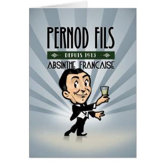 Pernod Fils Card