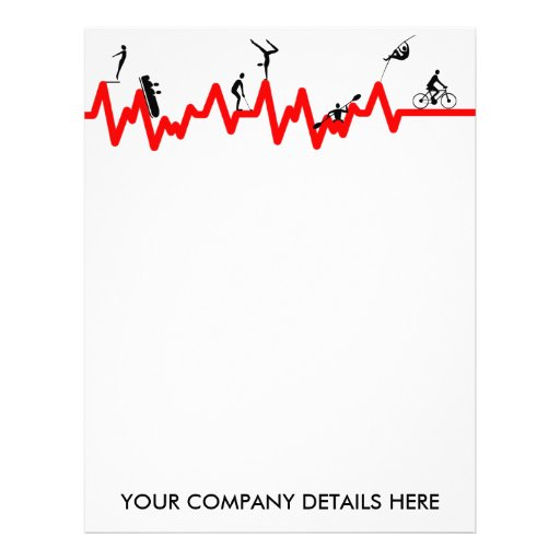 Peronal trainer letterhead template