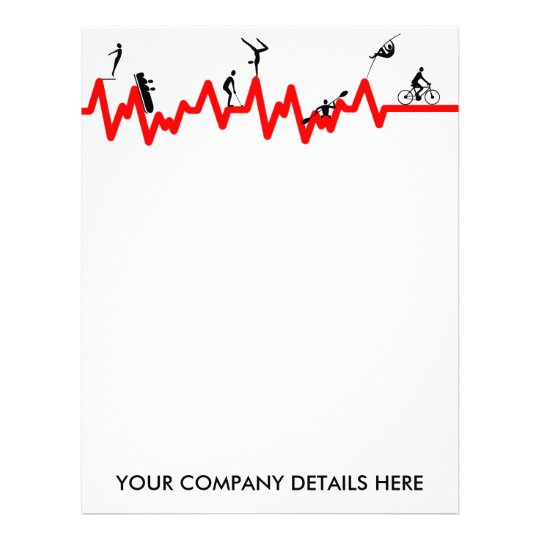 Peronal trainer personalized letterhead